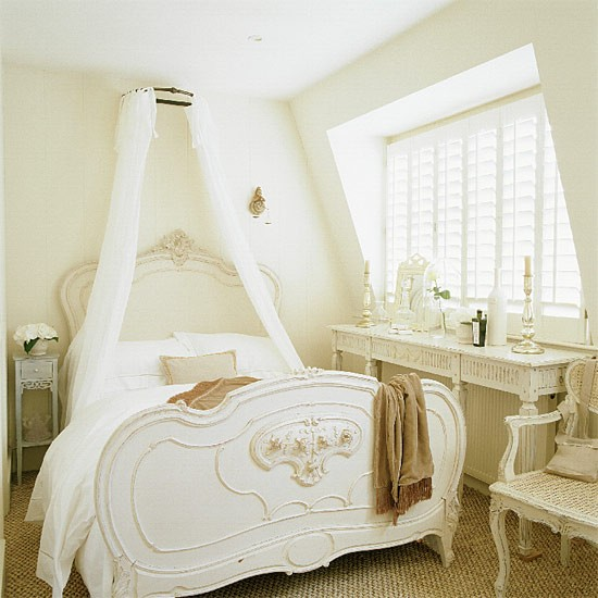 French-style attic bedroom | Bedroom furniture | housetohome.
