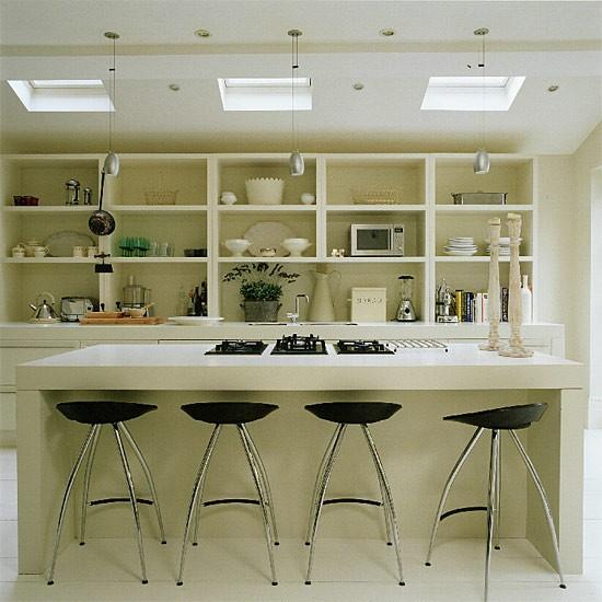 Contemporary white kitchen | Kitchen design | Decorating ideas | Image | Housetohome