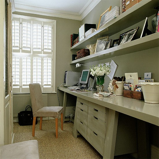 Home office | Office furniture | Decorating ideas | Image | Housetohome