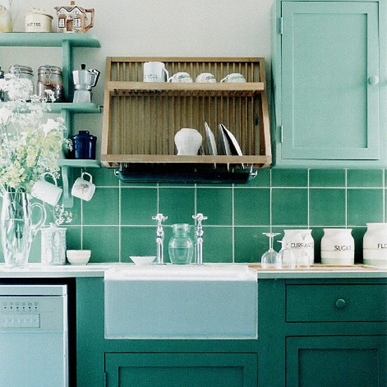 Traditional Green Kitchen Kitchen Design Decorating Ideas Housetohome C