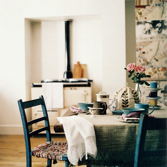 Traditional dining room table | Dining room furniture | Decorating ideas | Image | Housetohome