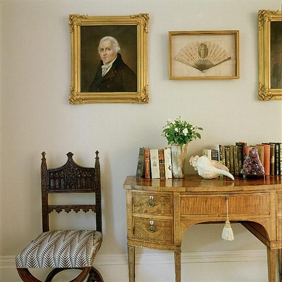 Antique-filled Hallway | Hallway design | Decorating ideas | Image | Housetohome