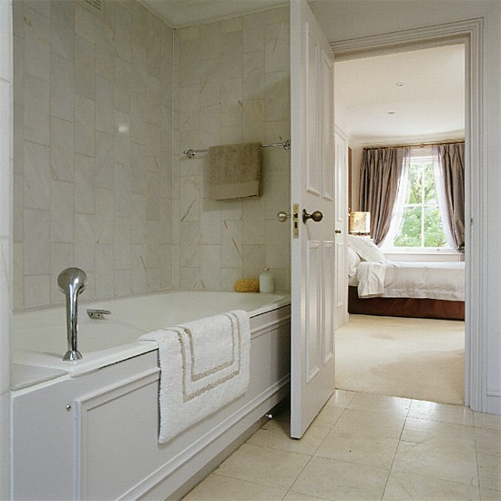 Ensuite marble bathroom | Bathroom idea | Bath | Image | Housetohome.co.uk