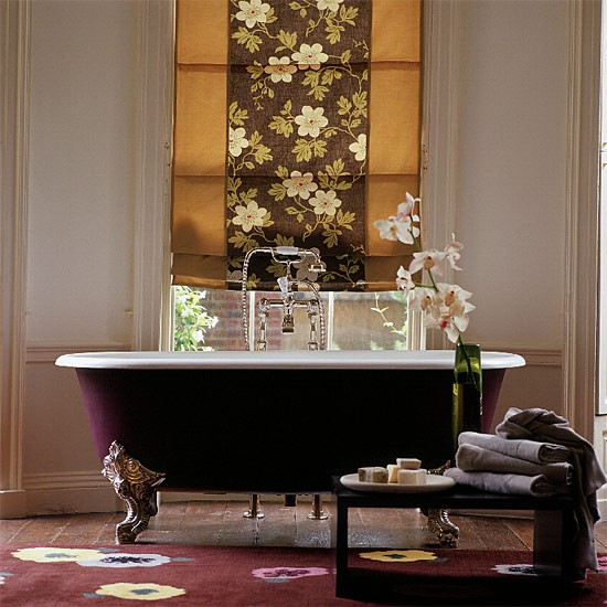 Classic bathroom | Bathroom idea | Freestanding bath | Image | Housetohome.co.uk