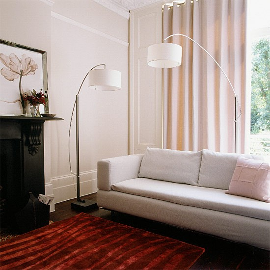 Living room lighting | Decorating ideas | Image | Housetohome.co.uk