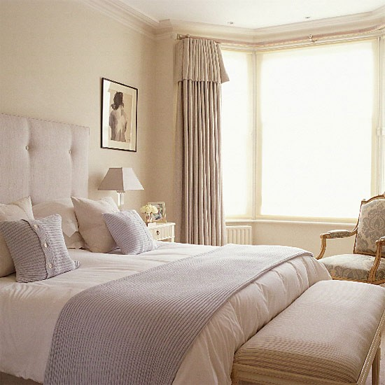 Blue and cream bedroom bedroom furniture decorating for Bedroom designs cream