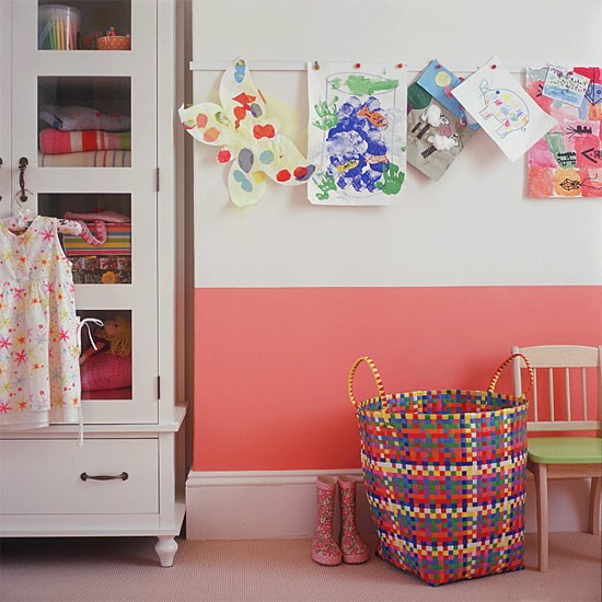 Girl's bedroom storage | PInk bedroom | Image | Housetohome.co.uk