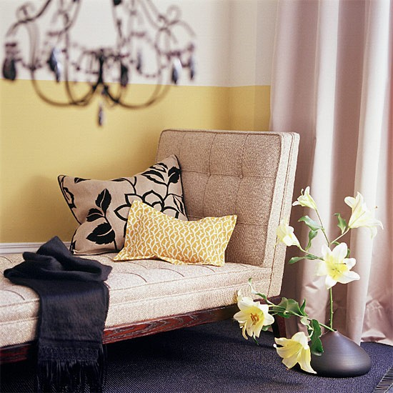 Two-tone living room | Image | Housetohome.co.uk