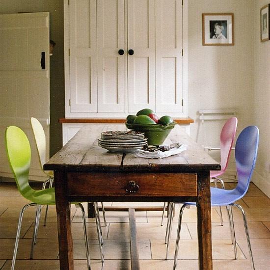 Cottage dining room dining room furniture housetohome for Cottage dining room ideas