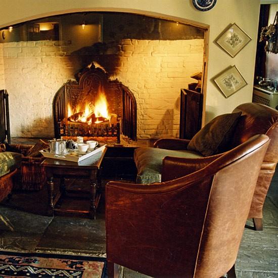Rustic living room | Image | Housetohome.co.uk
