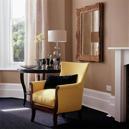Two-tone living room | Living room furniture | Decorating ideas | Image | Housetohome.co.uk
