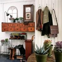 Cloakroom utility storage