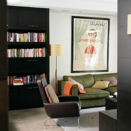 Contemporary living room | Decorating ideas | Image | Housetohome.co.uk