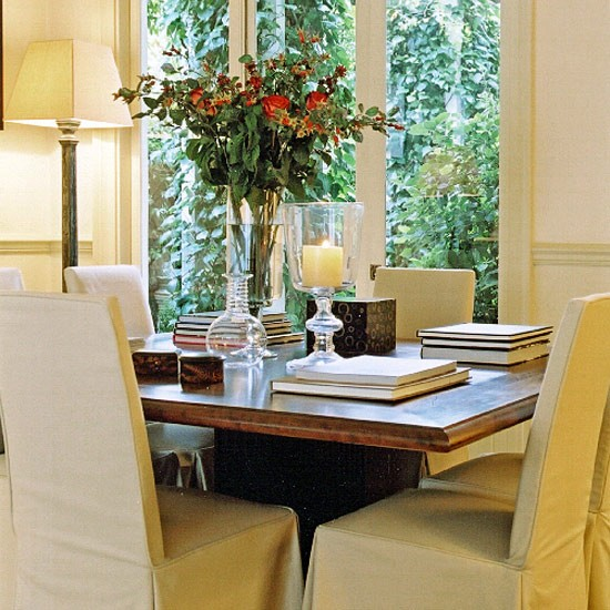 Neutral dining room | Dining room furniture | Decorating ideas | Image | Housetohome