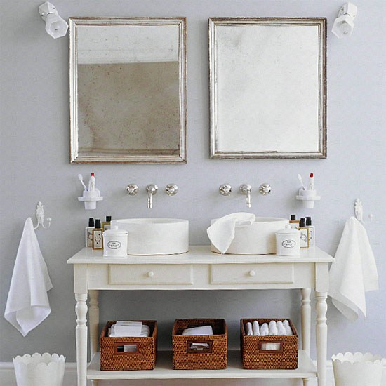 French Style Bathroom For Two Bathroom Idea Marble Basins