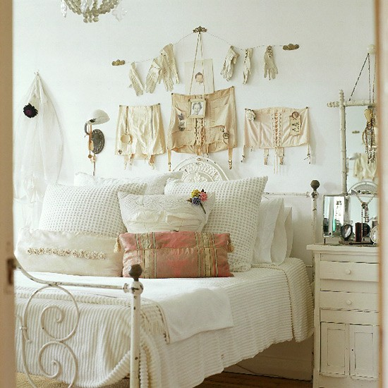 Retro bedroom | Neutral tones | Image | Housetohome.co.uk