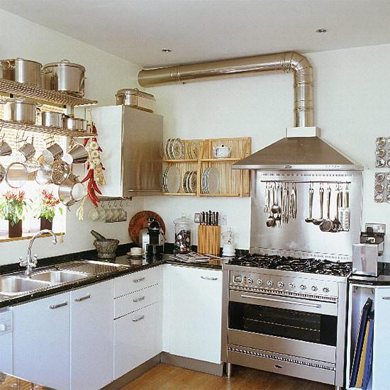 Restaurant style kitchen design decorating