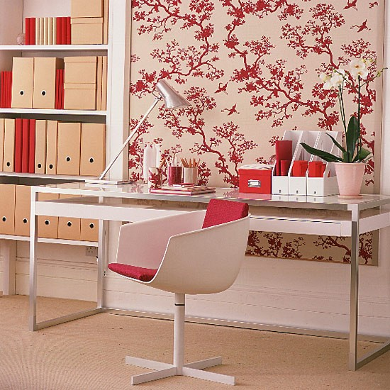Oriental-style home office | Office furniture | Decorating ideas | Image | Housetohome