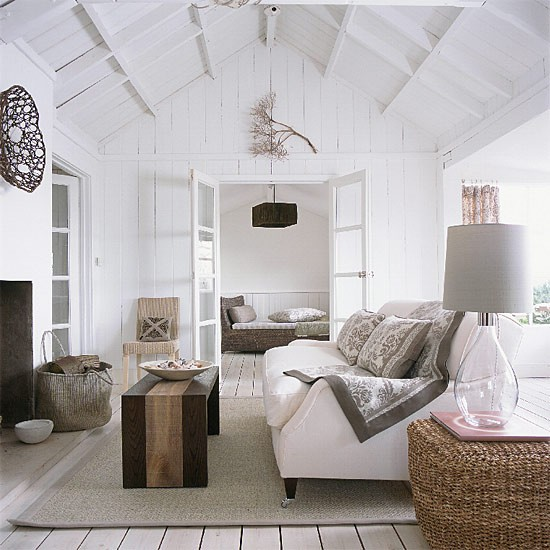 White living room  Decorating ideas  Image  Housetohome.co.uk