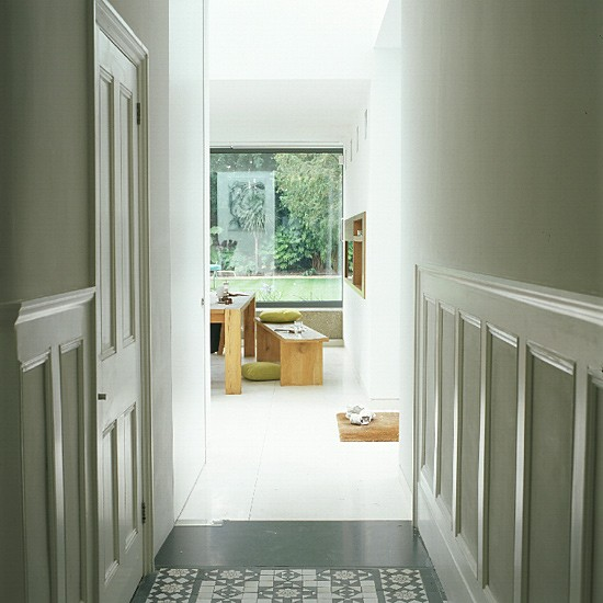 White Hallway Decoration Ideas Hallways Housetohome