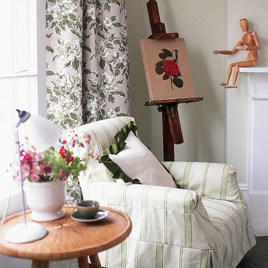 Patterned living room | Image | Housetohome.co.uk