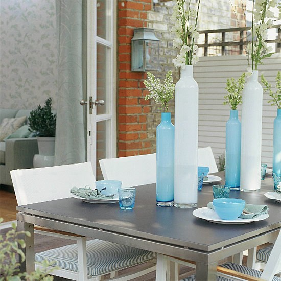 Garden dining table | Outdoor furniture | Decorating ideas | Image | Housetohome