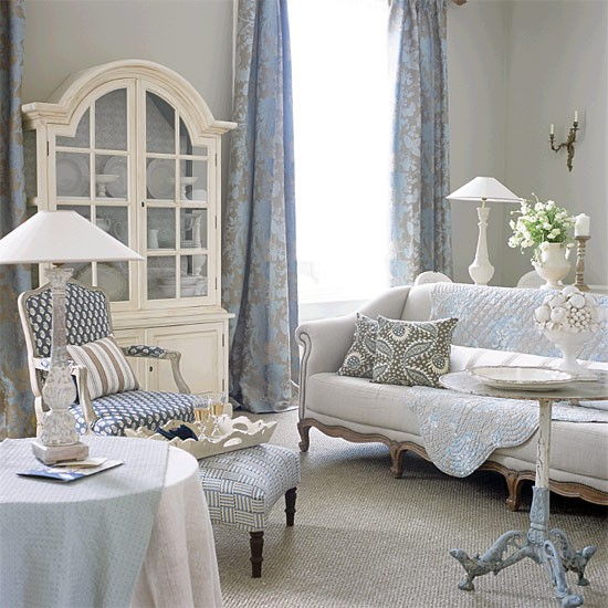 Provençal-style living room | Living room furniture | housetohome.