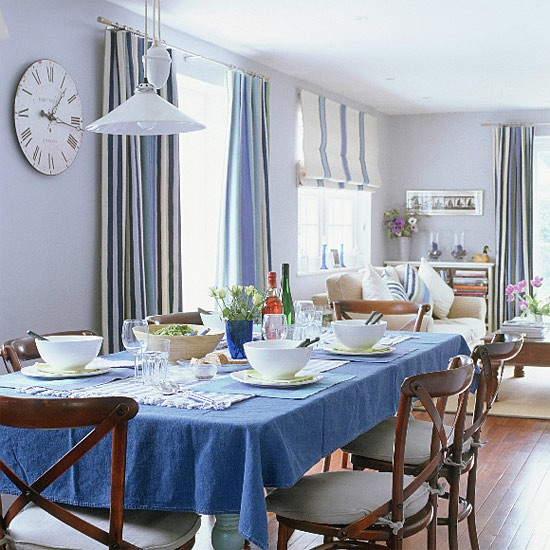 New England-style dining room | Dining room furniture | Decorating ideas | Image | Housetohome