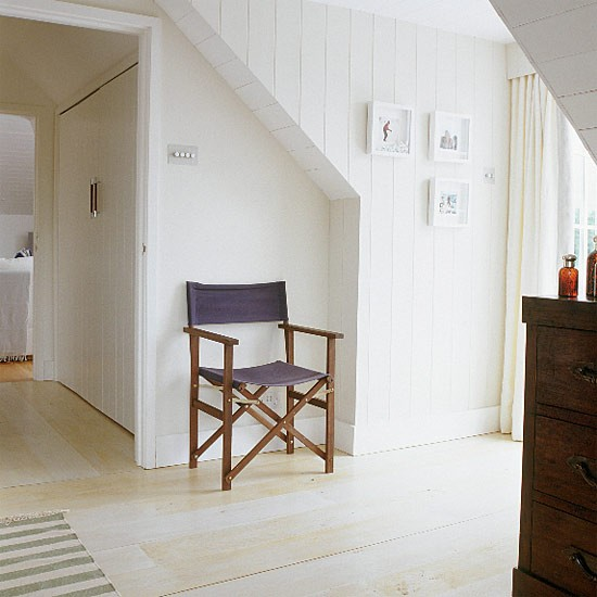 White New England-style bedroom | Bedroom design | Decorating ideas ...