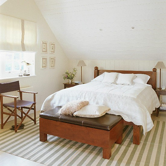 White New England-style bedroom | Bedroom furniture | Decorating ideas | Image | Housetohome