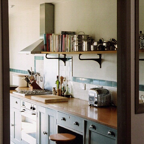 Kitchen Ideas Galley: Cottage Galley Kitchen