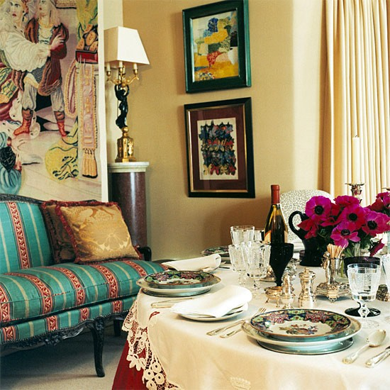 Eclectic dinning room dining room furniture decorating for Eclectic dining room decorating ideas