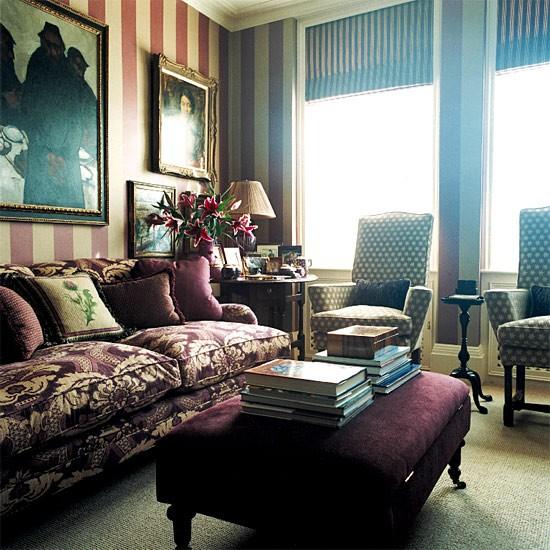 Antique-filled living room | Image | Housetohome.co.uk