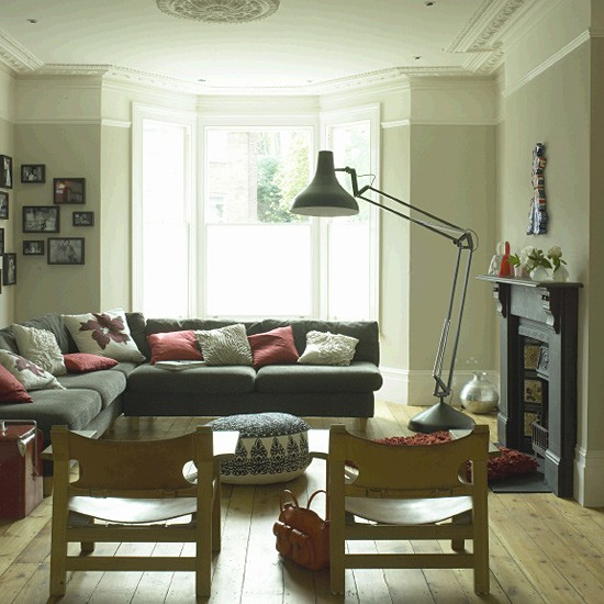 Open plan living room living room furniture decorating for Front room furniture ideas