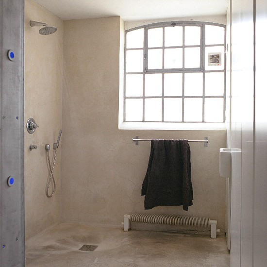 Concrete wetroom | Bathroom decorating | Image | Housetohome.co.uk