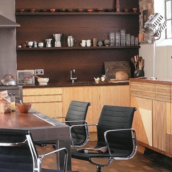 Modern wooden kitchen | Kitchen design | Decorating ideas | Image | Housetohome
