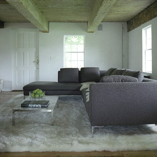 Natural living room | Living room furniture | Decorating ideas | Image | Housetohome