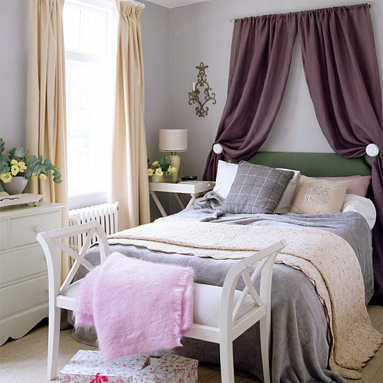 Elegant Curtain Swag Over Bed Decorate Our Home With Beautiful Curtains  With Curtains Behind Bed