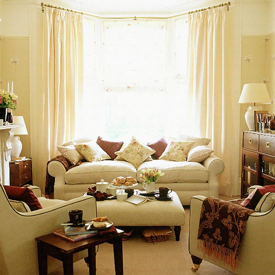 Living room with brown accents for Living room neutral ideas