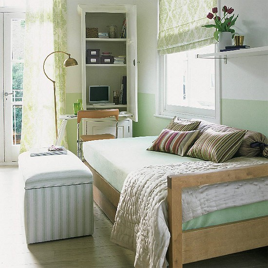 Bedroom office | Study decorating | Office furniture | Image | Housetohome.co.uk