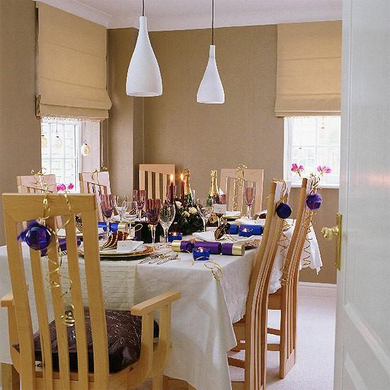 Christmas dining room | Festive decorating | Design ideas | Image | Housetohome