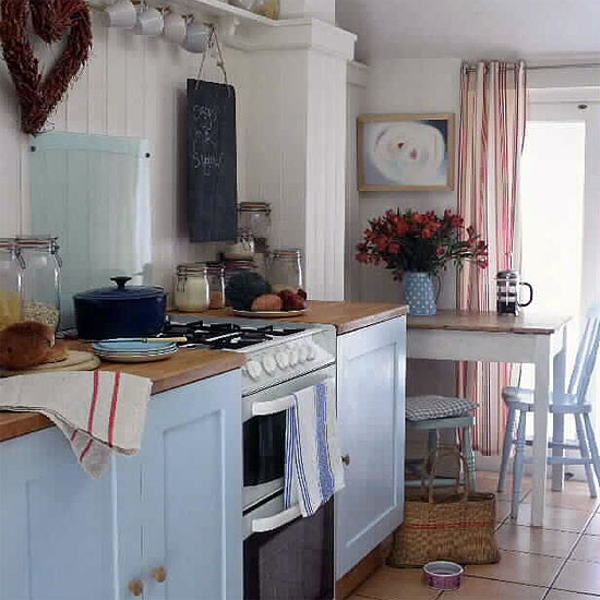 Budget country kitchen rustic kitchens design ideas for Small kitchen ideas on a budget