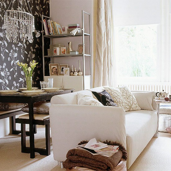 Living and dining room   Modern furniture   Decorating ideas   Image   Housetohome.co.uk
