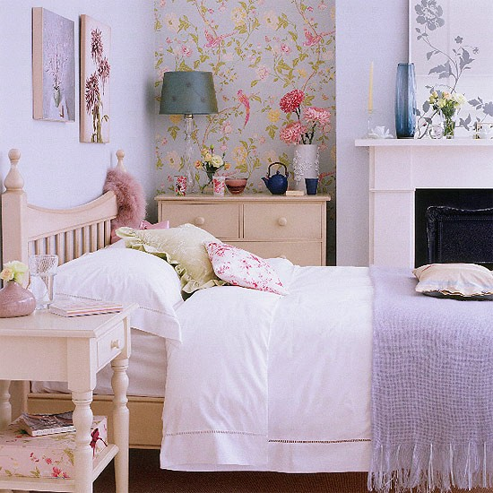 Dainty bedroom | Bedroom furniture | Decorating ideas | Image | Housetohome.co.uk