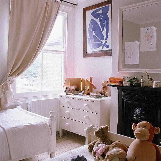 Girl's bedroom | Neutral tones | Image | Housetohome.co.uk