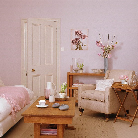 Think pink living room inspiration the home interiors partner - Appealing ideas for living room decor ...