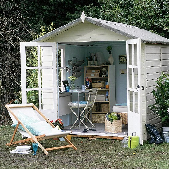 Outdoor office | Office furniture | Summer style | Image | Housetohome