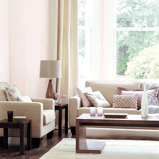 Soft toned living room | Living room furniture | Decorating ideas | Image | Housetohome
