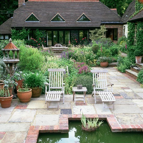 Pond And Terrace