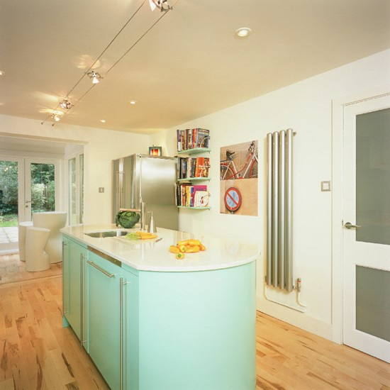 Contemporary lacquered kitchen | Kitchen design | Decorating ideas | Image | Housetohome